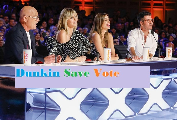 AGT 2020 Dunkin Save Voting Votes 26 August 2020 How to do Vote Online in America's got Talent 2020