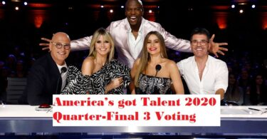America's got Talent 2020 Quarter-Final 3 Voting Votes Toll-free Numbers AGT Episode 25 August 2020 Online