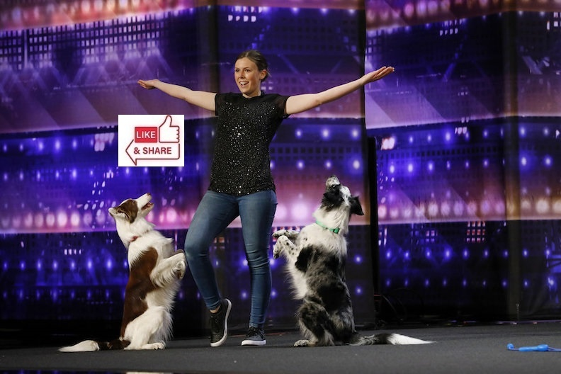 Alexandra Cote & Dog Audition Highlights in America's Got Talent (AGT) 2021