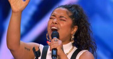 Brooke Simpson Audition Moment in America's Got Talent (AGT) 2021