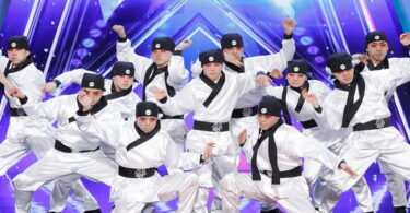 South Korean Dance Group Audition Moment in America's Got Talent (AGT) 2021