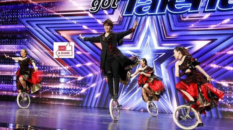 UniCircle Flow Audition Highlights in America's Got Talent (AGT) 2021