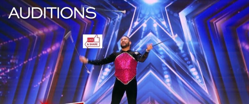 Joel Claudio (Twirl Act) Audition Highlights in America's Got Talent (AGT) 2021