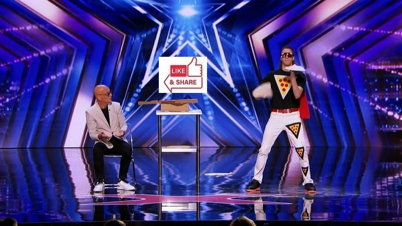 Pizza Man Audition Highlight in America's Got Talent (AGT) 2021