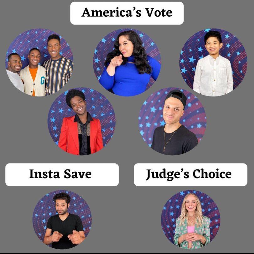 America's Got Talent (AGT) 2021 Voting Results Quarter Final Elimination 11 August 2021 Semifinalist Revealed