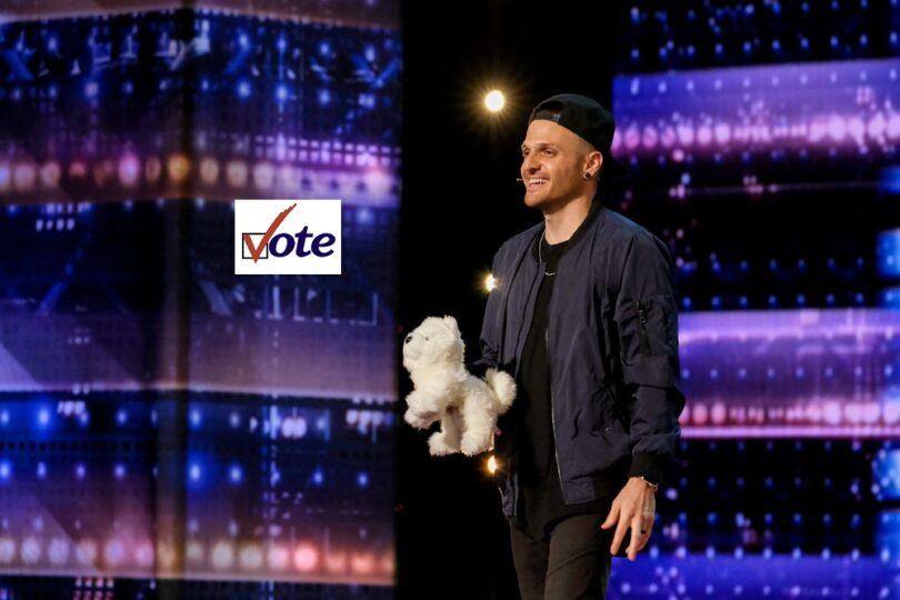 Vote Dustin Tavella America got Talent (AGT) 2021 Quarter-Final Voting App Text Number App 10 August 2021 Online