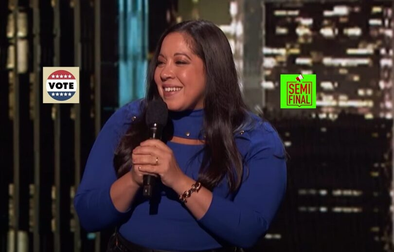 Vote Gina Brillon America's got Talent (AGT) 2021 Semifinal Voting App Text Number 31 August 2021 Online
