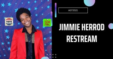 Vote Jimmie Herrod America's got Talent (AGT) 2021 Semifinal Voting App Text Number 31 August 2021 Online
