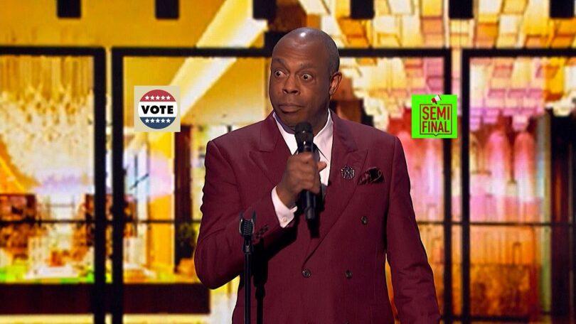 Vote Michael Winslow America's got Talent (AGT) 2021 Semifinal Voting App Text Number 31 August 2021 Online