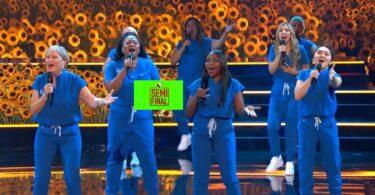 Vote Northwell Health Nurse Choir America's got Talent (AGT) 2021 Semifinal Voting App Text Number 7 September 2021 Online