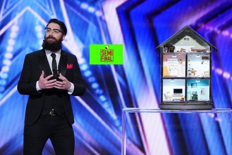 Vote Peter Antoniou America's got Talent (AGT) 2021 Semifinal Voting App Text Number 7 September 2021 Online